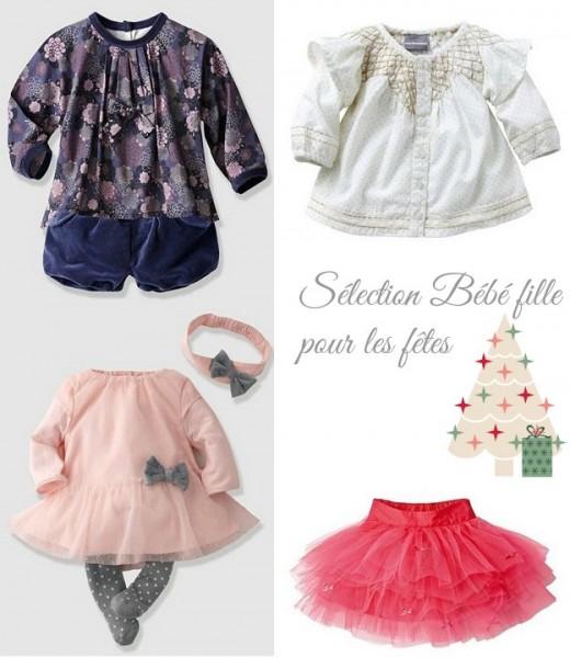 Robe fete bebe fille