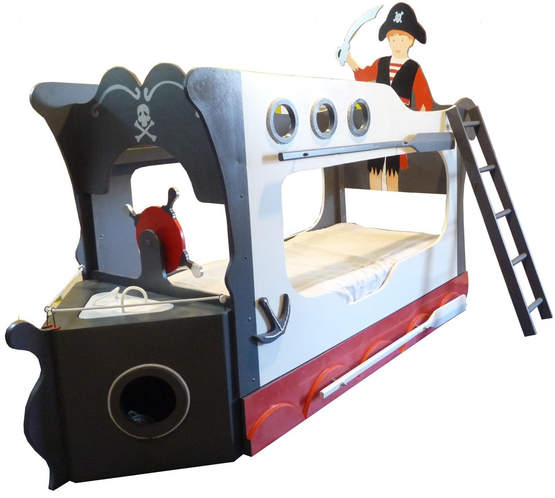 lit enfant pirate ouistitipop. Black Bedroom Furniture Sets. Home Design Ideas