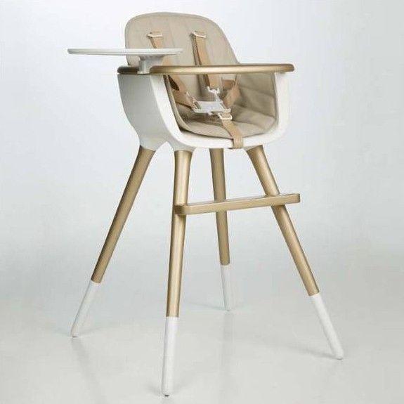 Chaise haute portative tissu