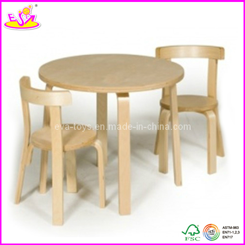 table ronde bois enfant ouistitipop. Black Bedroom Furniture Sets. Home Design Ideas