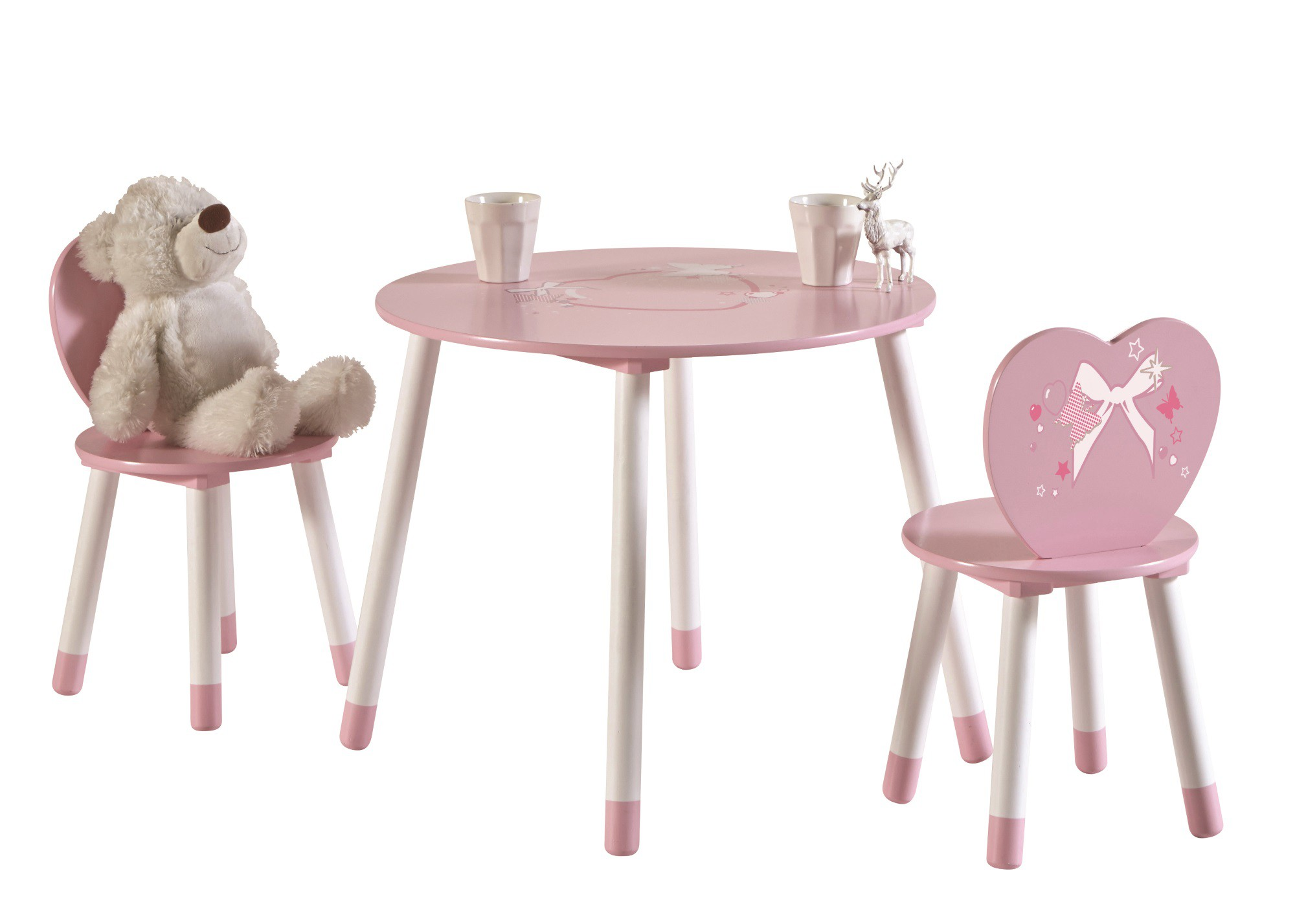 Table et chaise petite fille ouistitipop - Table chaise enfant ikea ...