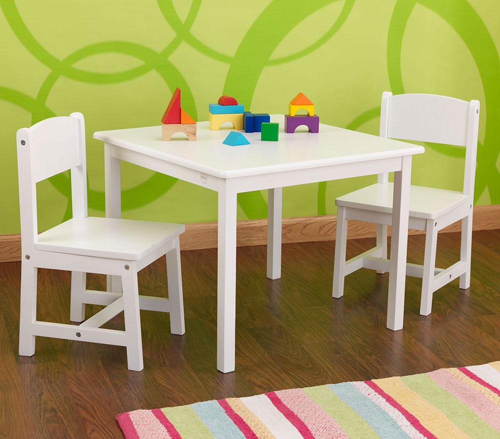 Conception et Plan petite table enfant : Table et chaise petite fille - ouistitipop