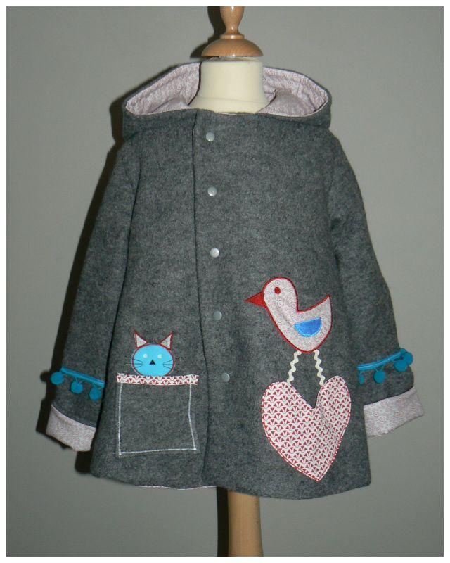 Manteau fille original