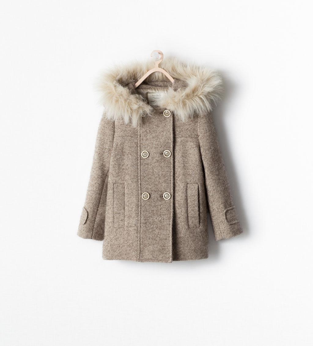 manteau laine fille 4 ans ouistitipop. Black Bedroom Furniture Sets. Home Design Ideas