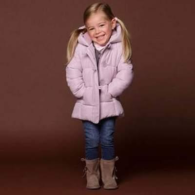 Doudoune chaude fille 4 ans