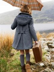 Manteau chaud enfant fille
