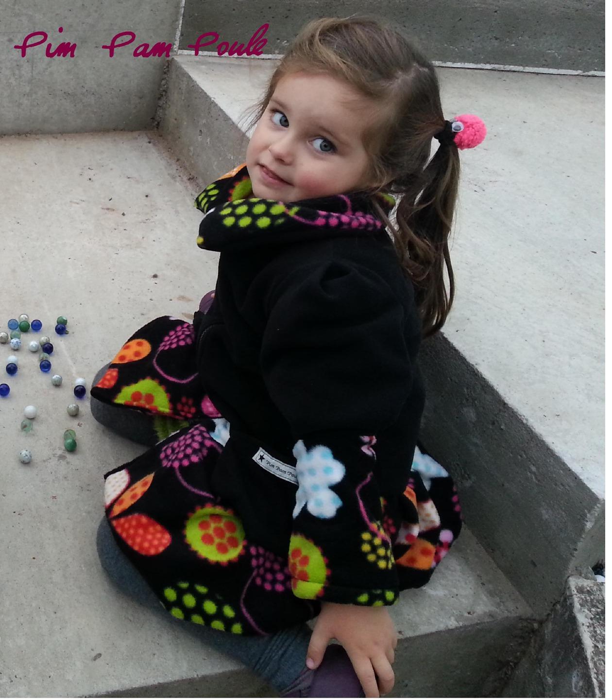 Veste hiver fille 4 ans