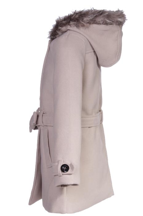 Manteau fille capuche