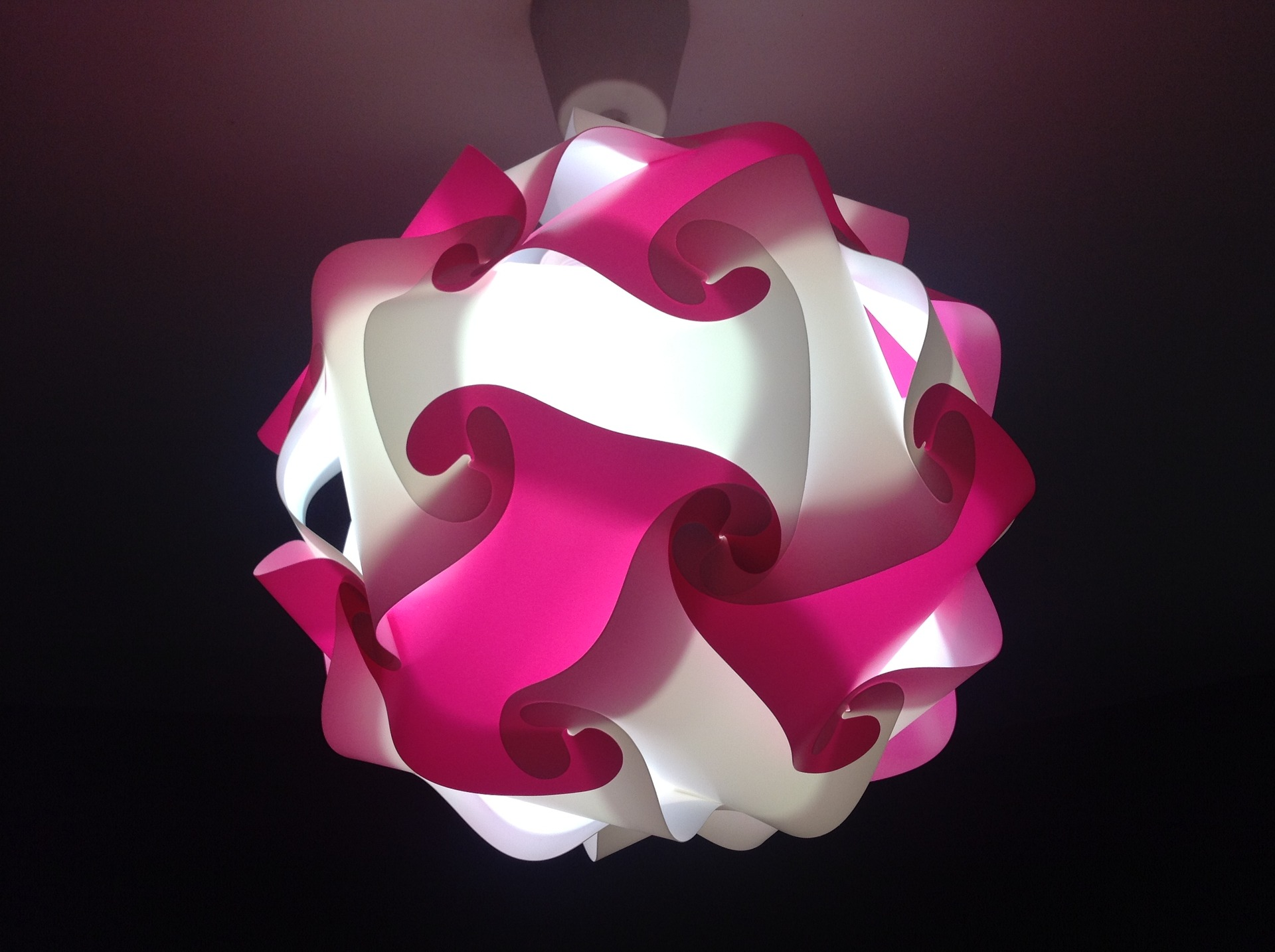 chambre d enfant luminaire sphere rose et blanche la 13252243 img 0431 90e83 ea3c3 big 2 5 Luxe Plafonnier Chambre à Coucher Ojr7