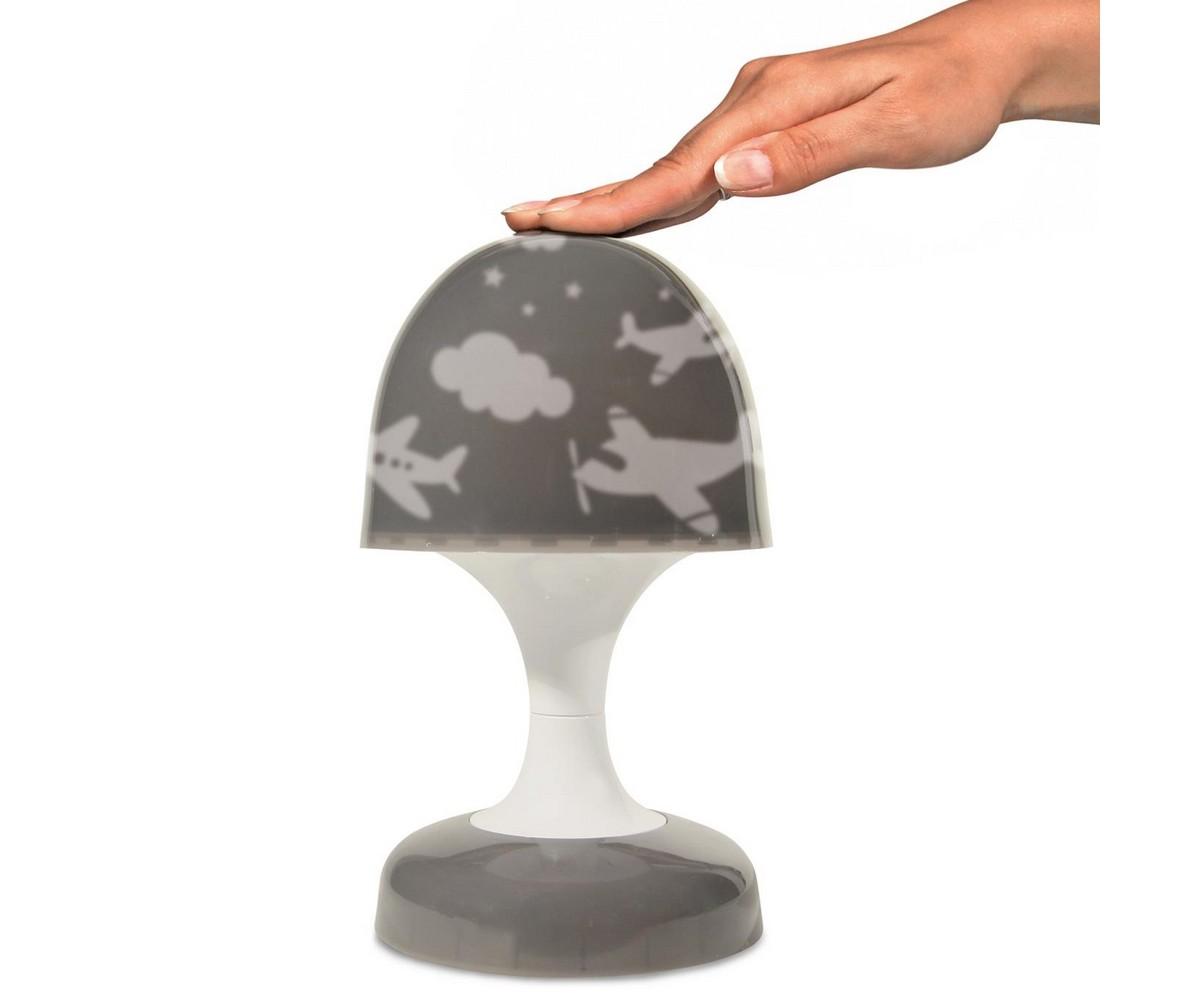 lampe veilleuse tactile projection forme champignon petit avion pas cher 1000 5 Nouveau Lampe Chevet Led Sjd8
