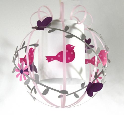 Luminaire chambre bébé fille - ouistitipop