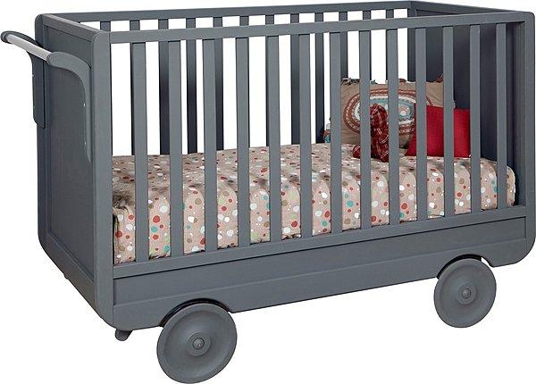 lit a roulette pour b b ouistitipop. Black Bedroom Furniture Sets. Home Design Ideas