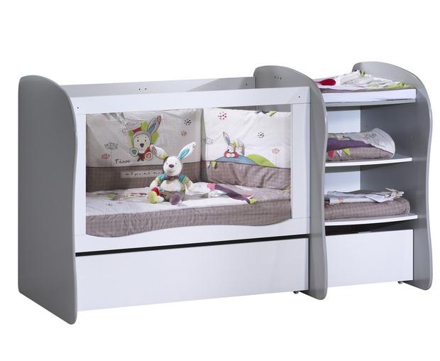 lit bebe evolutif plexiglas ouistitipop. Black Bedroom Furniture Sets. Home Design Ideas