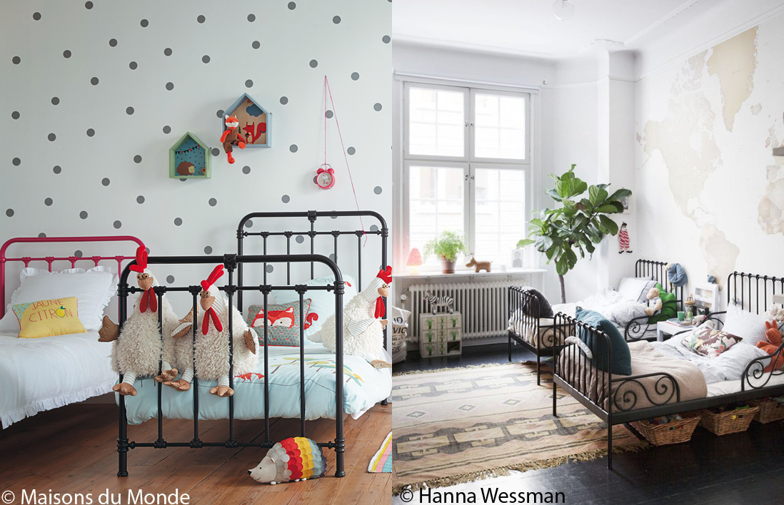 lit enfant fer ouistitipop. Black Bedroom Furniture Sets. Home Design Ideas