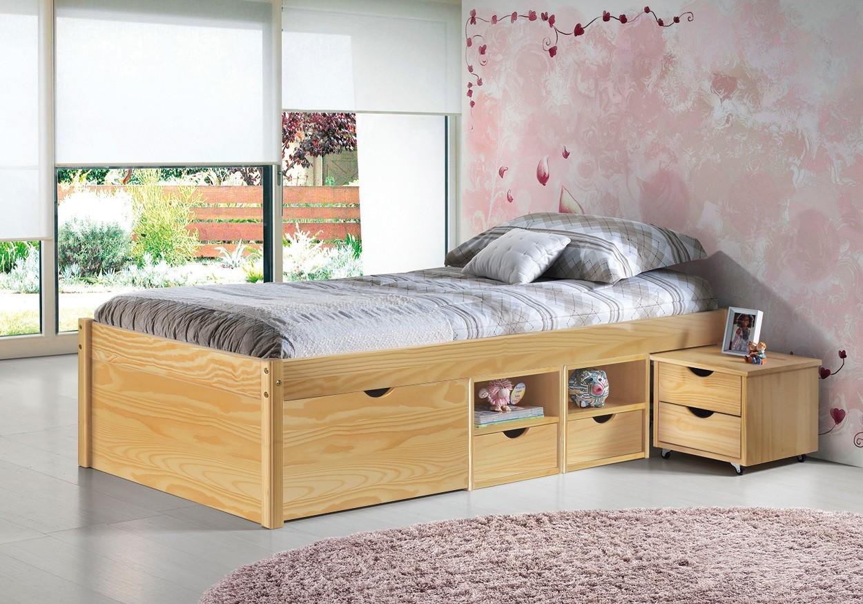 lit enfant pin ouistitipop. Black Bedroom Furniture Sets. Home Design Ideas