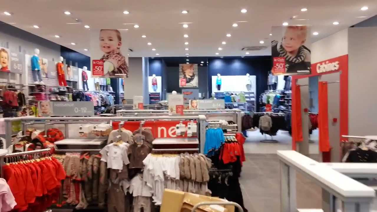Magasin de vetement de bebe
