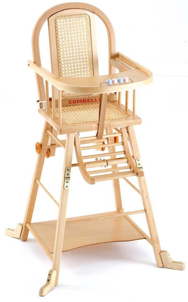 chaise haute bois b b ouistitipop. Black Bedroom Furniture Sets. Home Design Ideas
