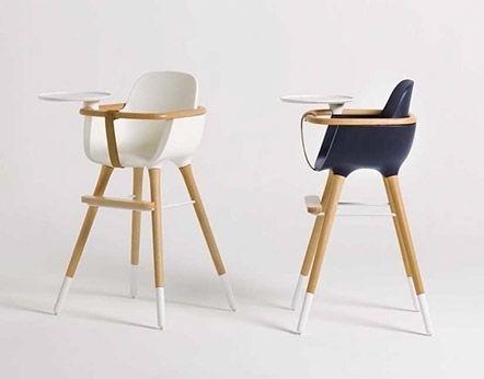 Chaise haute design bébé