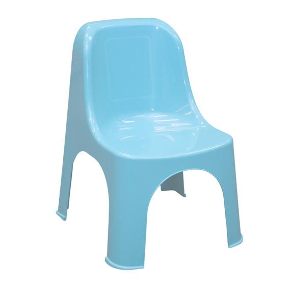Chaise enfant bleu