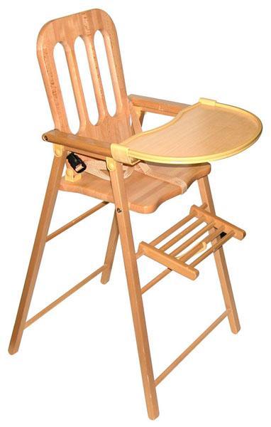 chaise haute pour b b en bois ouistitipop. Black Bedroom Furniture Sets. Home Design Ideas