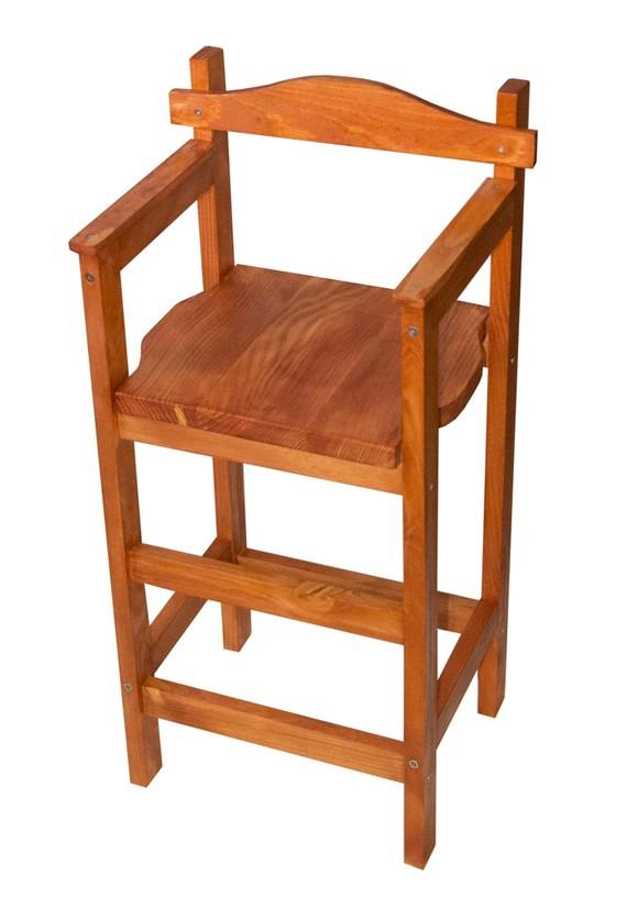 Chaise haute en bois pour enfant ouistitipop - Chaise haute en bois pour bebe ...
