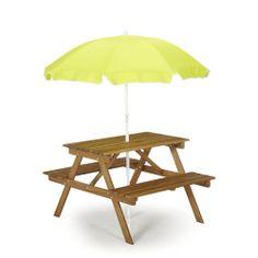 Table parasol enfant