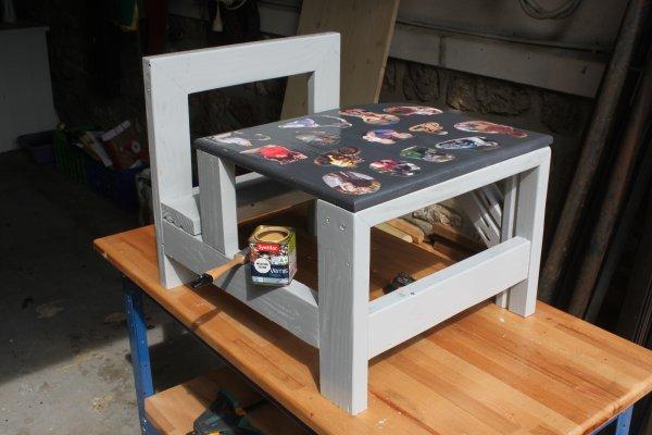 Fabriquer table enfant