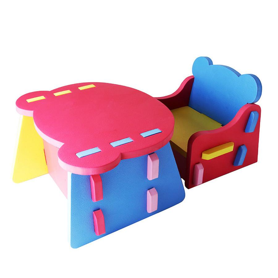 chaise et table bebe 18 mois ouistitipop. Black Bedroom Furniture Sets. Home Design Ideas
