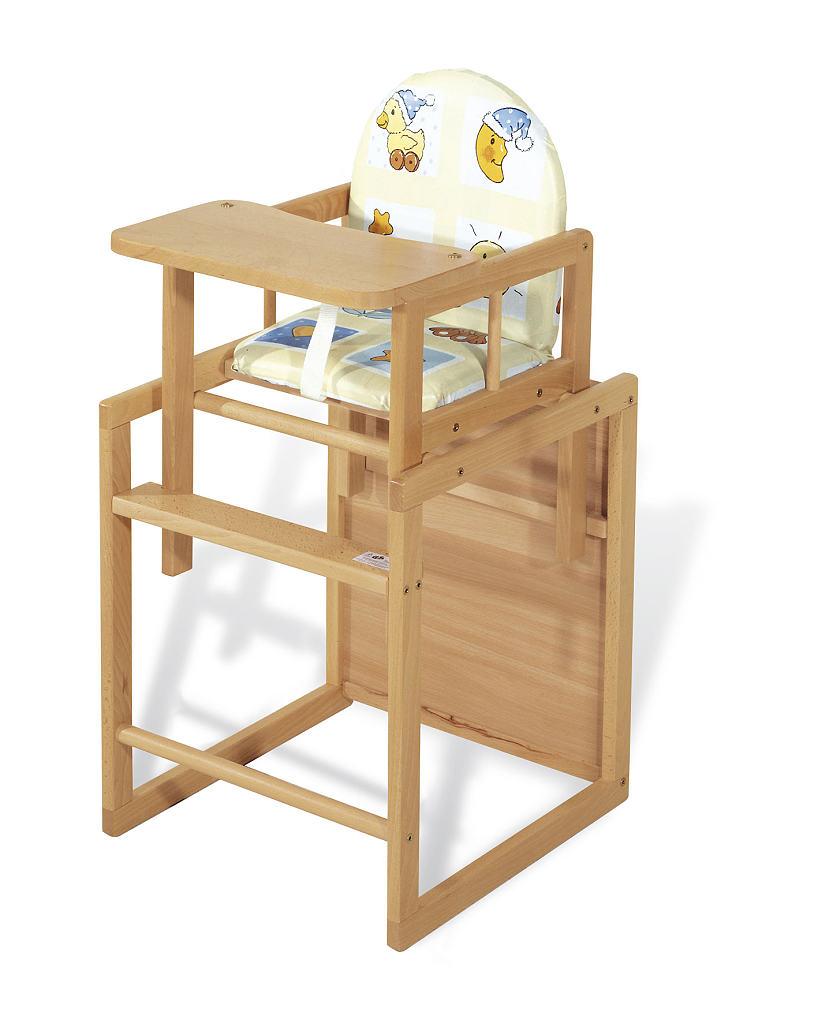 Chaise en bois pour bébé
