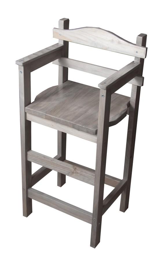chaise haute bois enfant ouistitipop. Black Bedroom Furniture Sets. Home Design Ideas