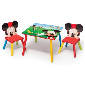 Table et chaise mickey