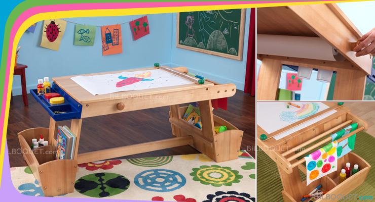 Table enfant dessin