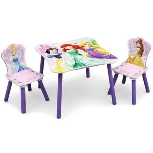 Table et chaise disney