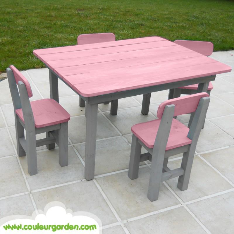 Enfant Table Chaise De Gmfi6vyyb7 Et Ouistitipop Jardin ilPXuOwkZT