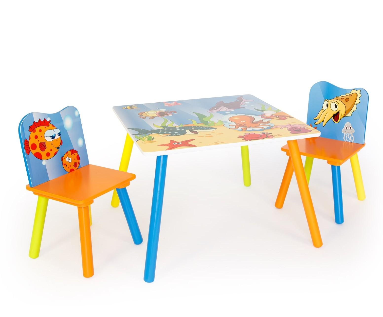 Table avec chaise pour enfant ouistitipop for Table avec chaise enfant