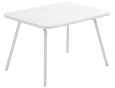 Table enfant blanche