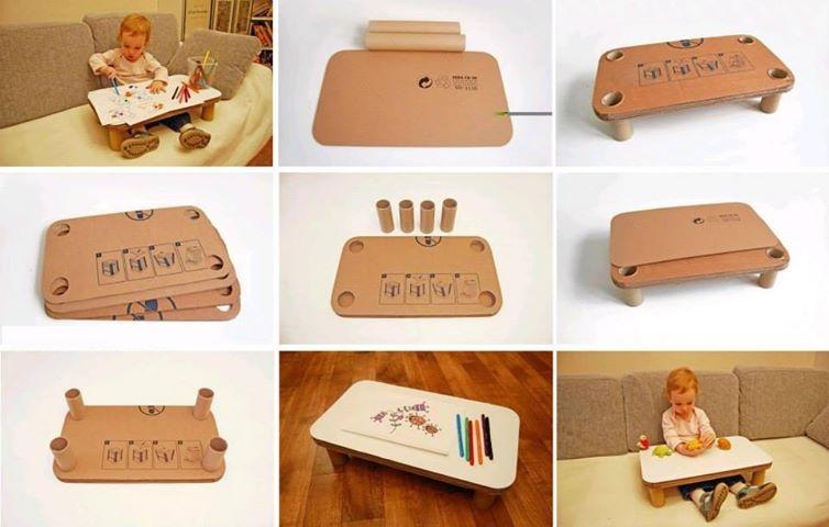 Fabriquer une table pour enfant