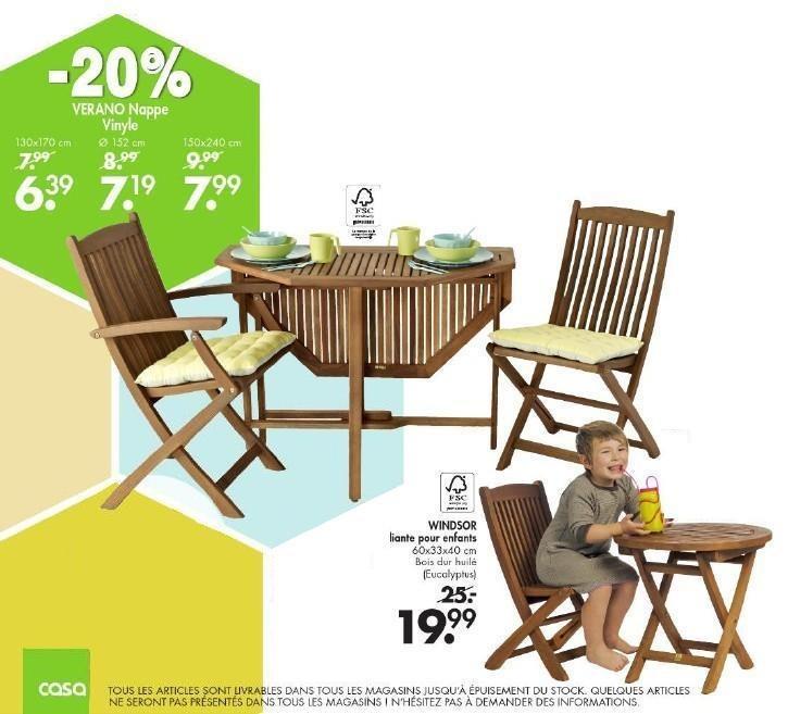 Casa chaise enfant