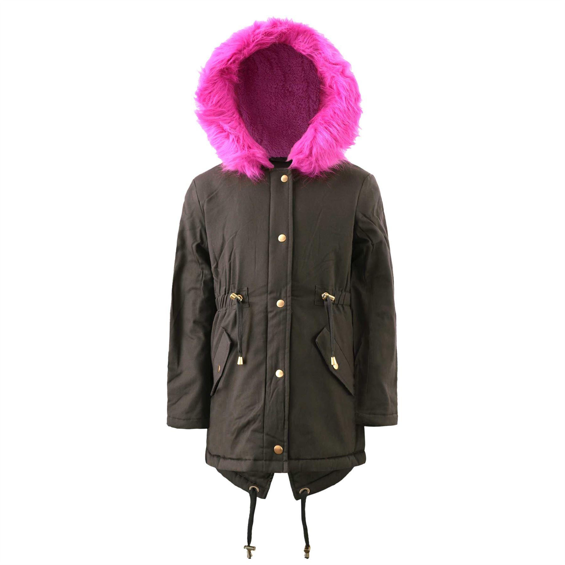 Manteau capuche enfant