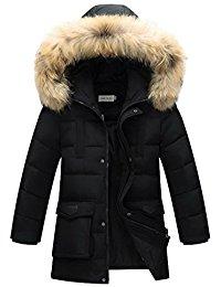 Manteau noir fille