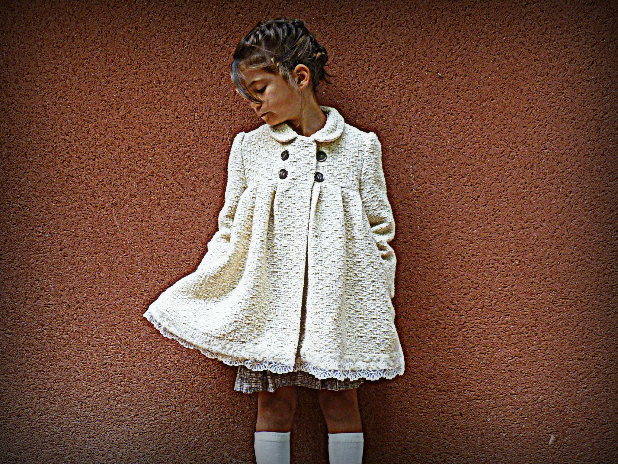Manteau petite fille 4 ans