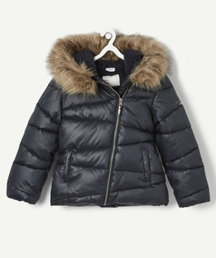 Manteau blouson fille