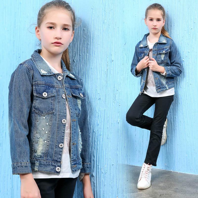 Veste en jean pour fille 10 ans