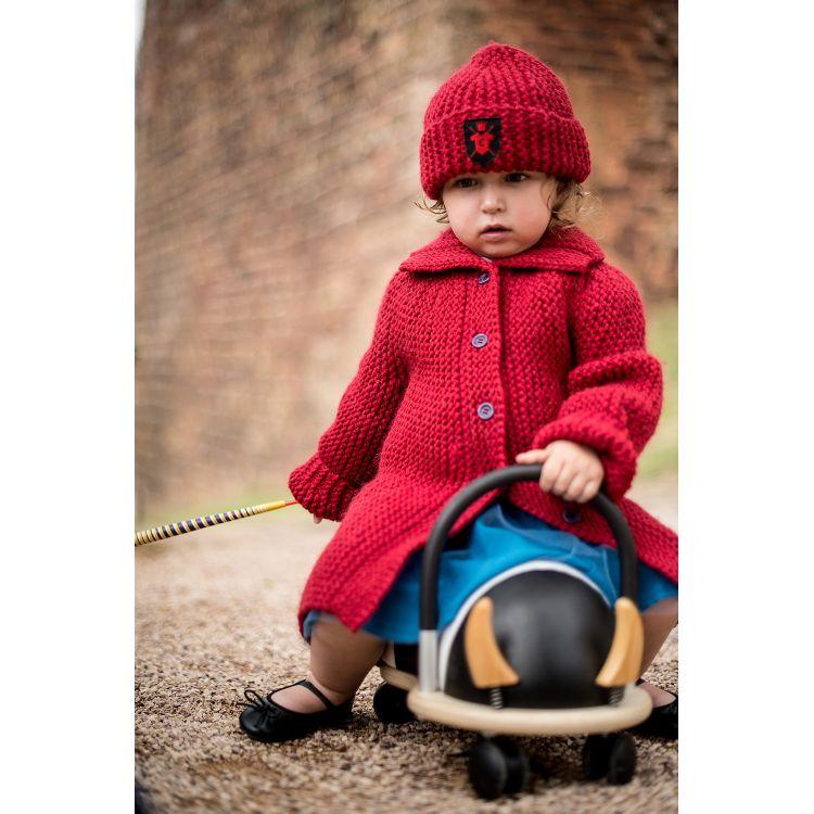 Manteau bebe fille rouge
