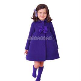 Manteau chaud fille 8 ans