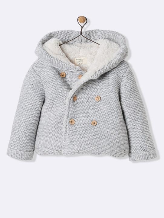 Combinaison manteau bébé fille