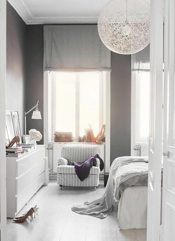 Lustre blanc pour chambre