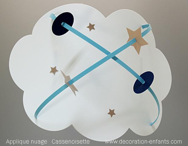 Luminaire enfant nuage
