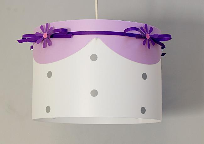 Lustre enfant violet