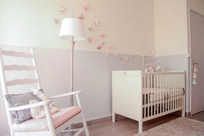 Lampadaire pour chambre fille ouistitipop - Idee chambre bebe fille ...